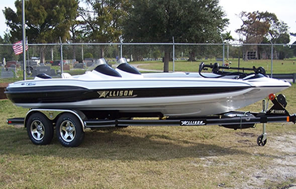 Allison Boat for Sale http://jollyrogermarina.com/allison_boats.htm